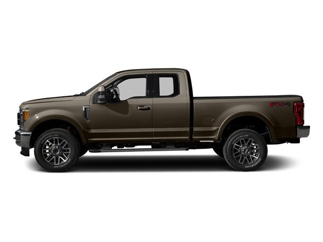 Caribou Metallic 2017 Ford Super Duty F-350 SRW Pictures Super Duty F-350 SRW Supercab Lariat 2WD photos side view
