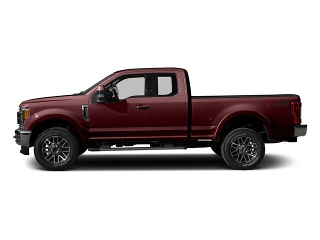 Bronze Fire Metallic 2017 Ford Super Duty F-350 SRW Pictures Super Duty F-350 SRW Supercab Lariat 2WD photos side view