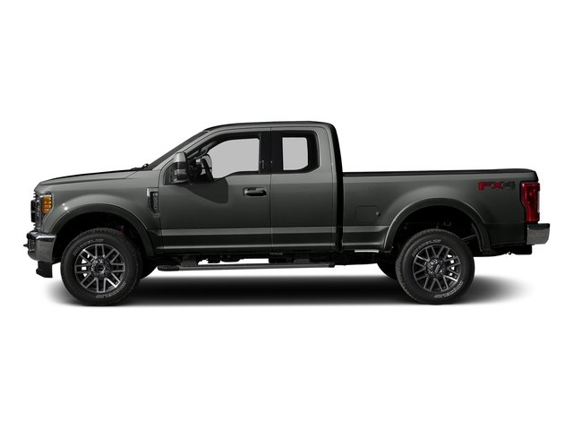 Magnetic Metallic 2017 Ford Super Duty F-250 SRW Pictures Super Duty F-250 SRW Supercab Lariat 4WD photos side view