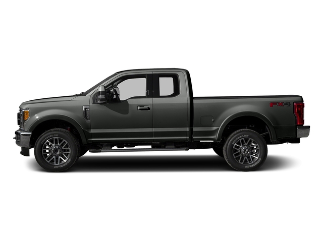 Magnetic Metallic 2017 Ford Super Duty F-350 SRW Pictures Super Duty F-350 SRW Supercab Lariat 2WD photos side view