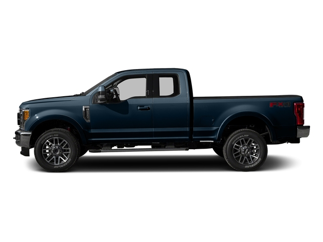 Blue Jeans Metallic 2017 Ford Super Duty F-250 SRW Pictures Super Duty F-250 SRW Supercab Lariat 4WD photos side view