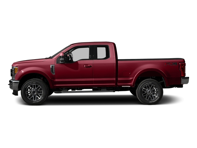 Ruby Red Metallic Tinted Clearcoat 2017 Ford Super Duty F-350 SRW Pictures Super Duty F-350 SRW Supercab Lariat 2WD photos side view