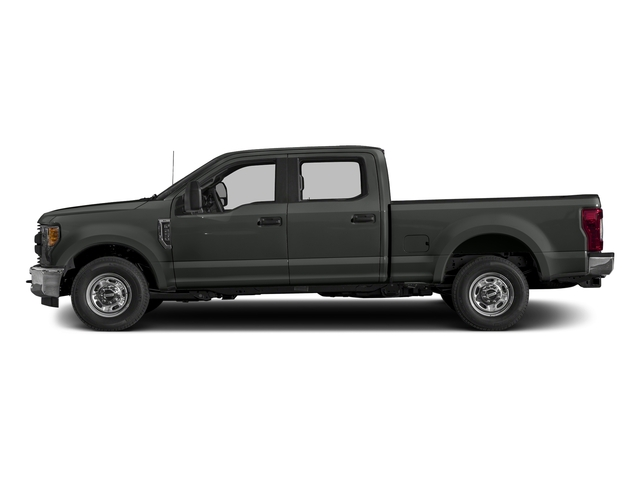 Magnetic Metallic 2017 Ford Super Duty F-250 SRW Pictures Super Duty F-250 SRW Crew Cab XL 4WD photos side view