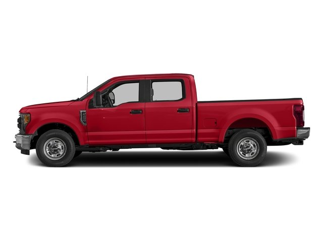 Race Red 2017 Ford Super Duty F-250 SRW Pictures Super Duty F-250 SRW Crew Cab XL 4WD photos side view