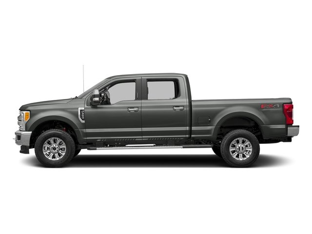 Magnetic Metallic 2017 Ford Super Duty F-350 SRW Pictures Super Duty F-350 SRW Crew Cab XLT 4WD photos side view
