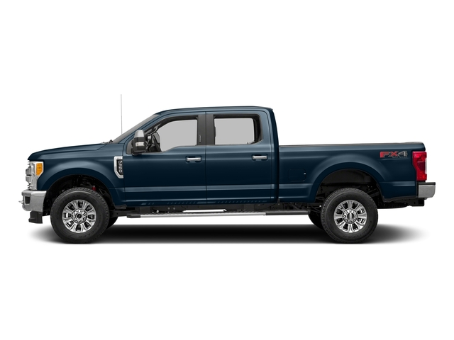 Blue Jeans Metallic 2017 Ford Super Duty F-350 SRW Pictures Super Duty F-350 SRW Crew Cab XLT 4WD photos side view