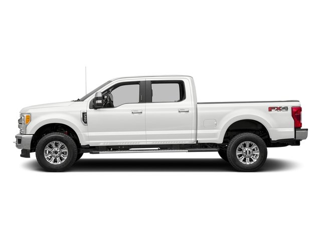 Oxford White 2017 Ford Super Duty F-350 SRW Pictures Super Duty F-350 SRW Crew Cab XLT 4WD photos side view