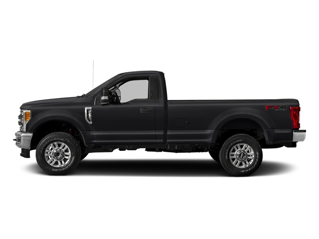Shadow Black 2017 Ford Super Duty F-350 SRW Pictures Super Duty F-350 SRW Regular Cab XLT 2WD photos side view