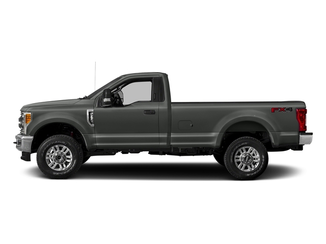 Magnetic Metallic 2017 Ford Super Duty F-250 SRW Pictures Super Duty F-250 SRW Regular Cab XLT 2WD photos side view