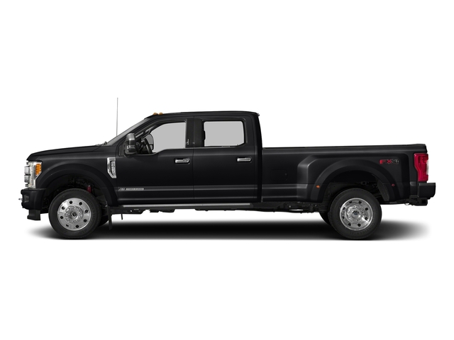 Shadow Black 2017 Ford Super Duty F-450 DRW Pictures Super Duty F-450 DRW Crew Cab Platinum 4WD T-Diesel photos side view
