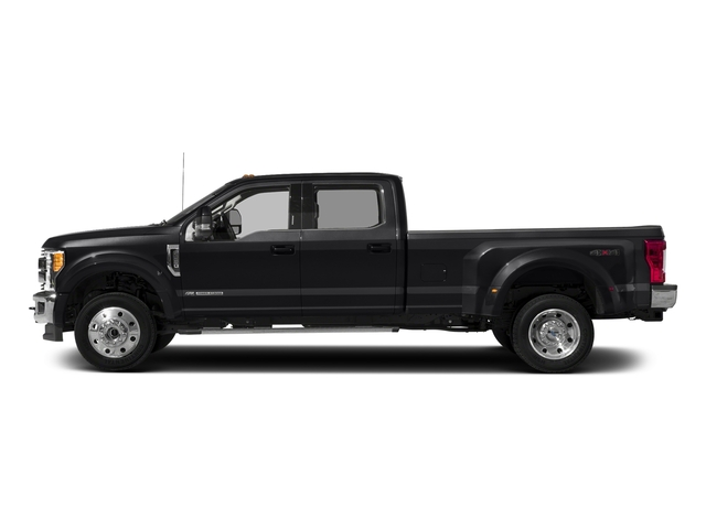 Shadow Black 2017 Ford Super Duty F-450 DRW Pictures Super Duty F-450 DRW Crew Cab Lariat 4WD T-Diesel photos side view