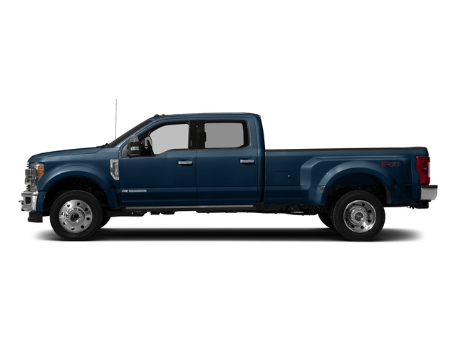 Blue Jeans Metallic 2017 Ford Super Duty F-450 DRW Pictures Super Duty F-450 DRW Crew Cab King Ranch 4WD T-Diesel photos side view