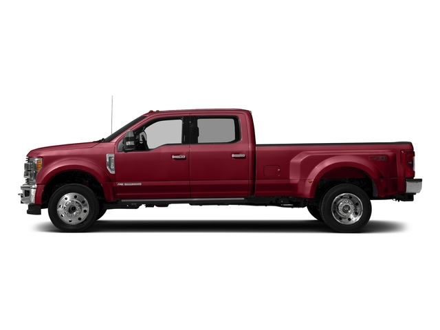 Ruby Red Metallic Tinted Clearcoat 2017 Ford Super Duty F-450 DRW Pictures Super Duty F-450 DRW Crew Cab King Ranch 4WD T-Diesel photos side view