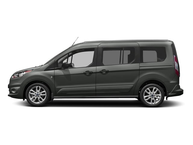 Magnetic Metallic 2017 Ford Transit Connect Wagon Pictures Transit Connect Wagon Extended Passenger Van XLT photos side view