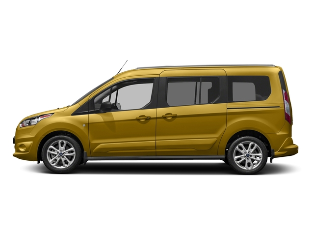 Solar Metallic 2017 Ford Transit Connect Wagon Pictures Transit Connect Wagon Extended Passenger Van XLT photos side view