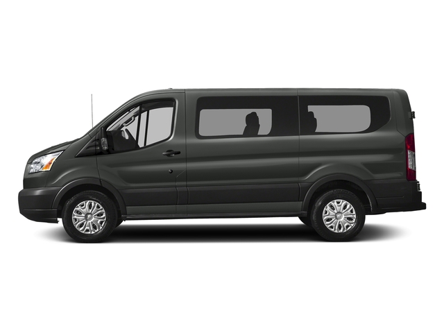 Magnetic Metallic 2017 Ford Transit Wagon Pictures Transit Wagon Passenger Van XLT Low Roof photos side view