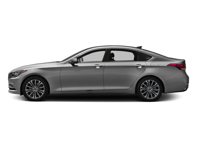 Himalayan Gray 2017 Genesis G80 Pictures G80 3.8L AWD photos side view