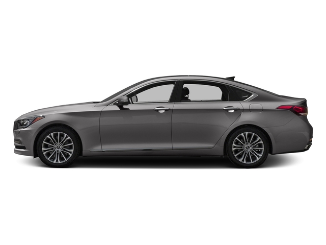 Empire St Gray Metallic 2017 Genesis G80 Pictures G80 3.8L AWD photos side view