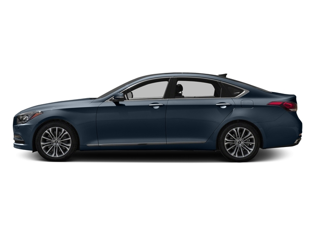 Ibiza Blue 2017 Genesis G80 Pictures G80 3.8L AWD photos side view