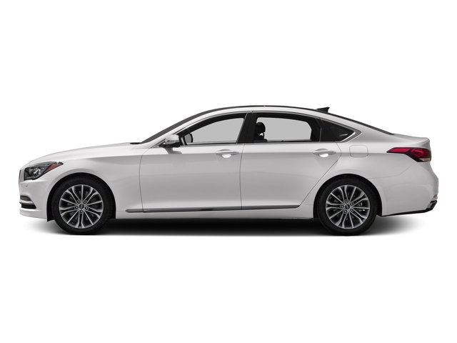 Casablanca White 2017 Genesis G80 Pictures G80 3.8L AWD photos side view