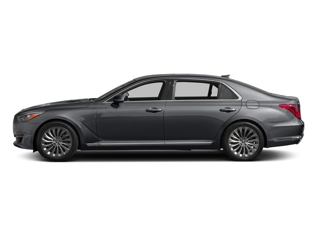 London Gray Metallic 2017 Genesis G90 Pictures G90 5.0L Ultimate RWD photos side view
