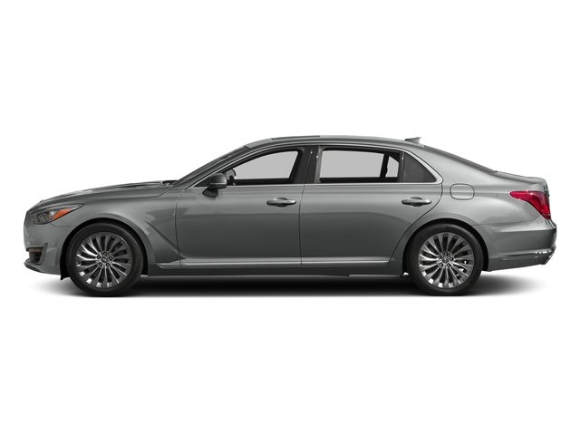 Santiago Silver Metallic 2017 Genesis G90 Pictures G90 5.0L Ultimate RWD photos side view
