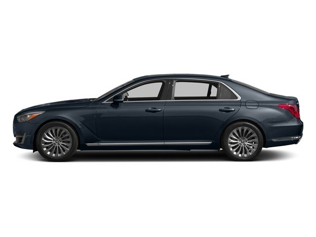 Patagonia Blue Metallic 2017 Genesis G90 Pictures G90 5.0L Ultimate RWD photos side view
