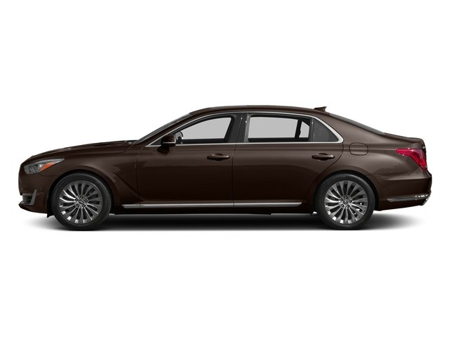 Manhattan Brown 2017 Genesis G90 Pictures G90 5.0L Ultimate RWD photos side view