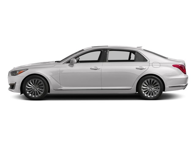 Casablanca White 2017 Genesis G90 Pictures G90 5.0L Ultimate RWD photos side view