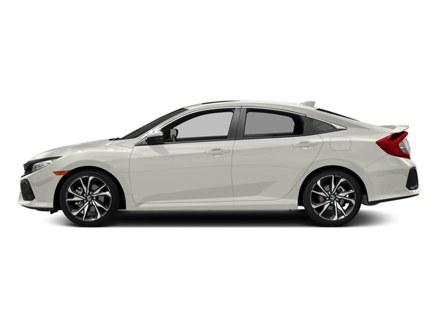 White Orchid Pearl 2017 Honda Civic Sedan Pictures Si Manual Photos Side View