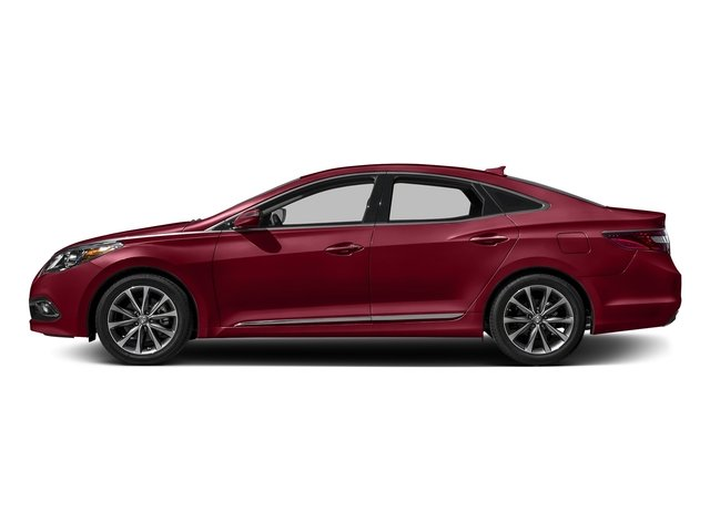 Venetian Red Pearl 2017 Hyundai Azera Pictures Azera Limited 3.3L photos side view
