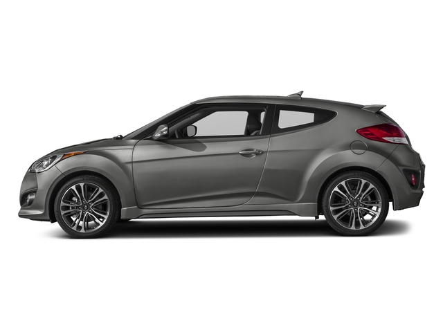 Ironman Silver Metallic 2017 Hyundai Veloster Pictures Veloster Turbo Manual photos side view