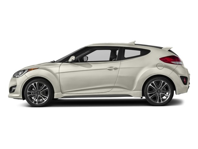 Elite White Pearl 2017 Hyundai Veloster Pictures Veloster Turbo Manual photos side view