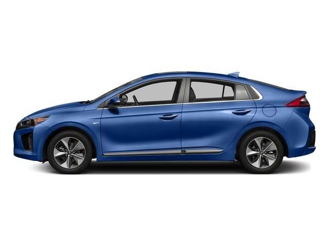 Electric Blue Metallic 2017 Hyundai Ioniq Electric Pictures Ioniq Electric Limited Hatchback photos side view