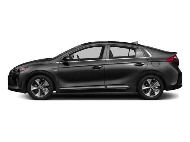 Black Noir Pearl 2017 Hyundai Ioniq Electric Pictures Ioniq Electric Limited Hatchback photos side view