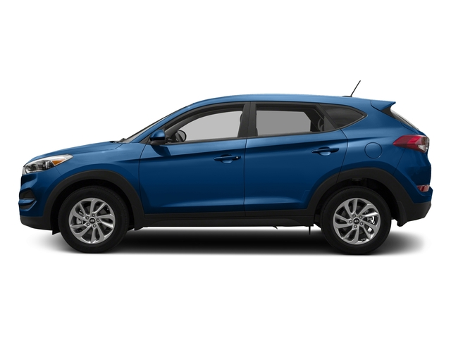 Caribbean Blue 2017 Hyundai Tucson Pictures Tucson SE AWD photos side view