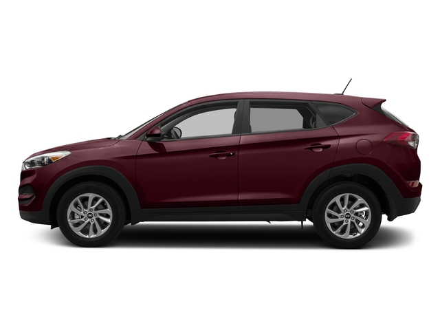Ruby Wine 2017 Hyundai Tucson Pictures Tucson SE AWD photos side view