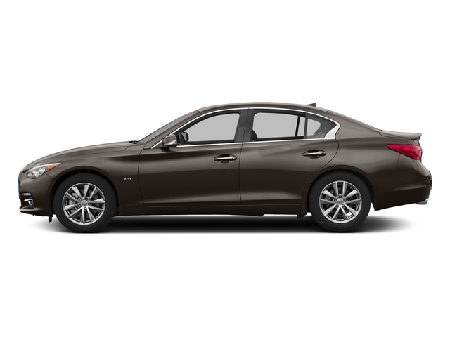 Chestnut Bronze 2017 INFINITI Q50 Pictures Q50 3.0t Signature Edition AWD photos side view