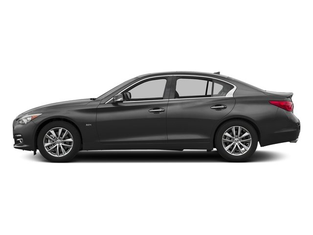Graphite Shadow 2017 INFINITI Q50 Pictures Q50 3.0t Signature Edition AWD photos side view
