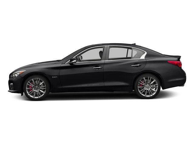 Midnight Black 2017 INFINITI Q50 Pictures Q50 3.0t Sport AWD photos side view