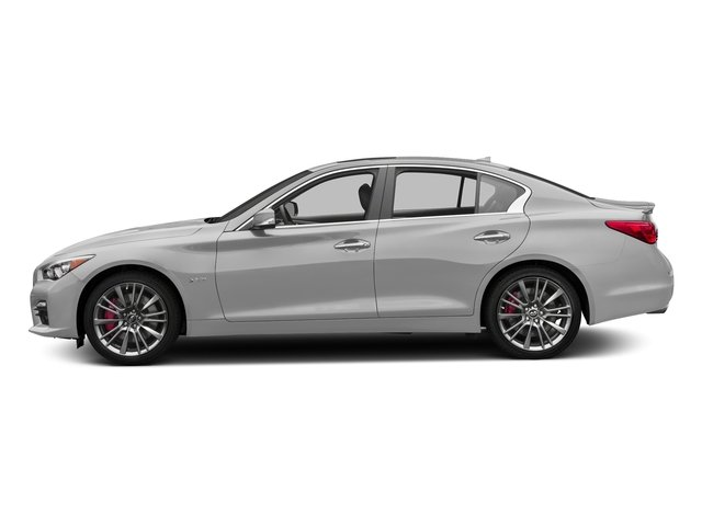 Liquid Platinum 2017 INFINITI Q50 Pictures Q50 Sedan 4D 3.0T Red Sport V6 Turbo photos side view