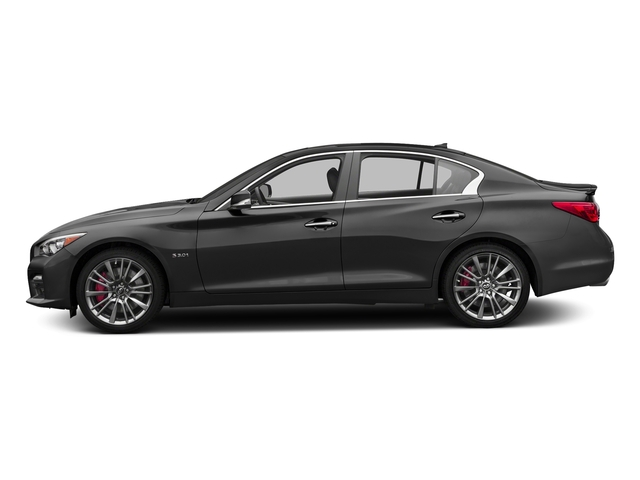 Graphite Shadow 2017 INFINITI Q50 Pictures Q50 Sedan 4D 3.0T Red Sport V6 Turbo photos side view