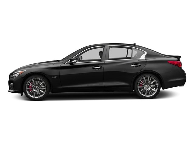 Black Obsidian 2017 INFINITI Q50 Pictures Q50 3.0t Sport AWD photos side view