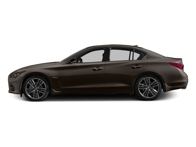 Chestnut Bronze 2017 INFINITI Q50 Hybrid Pictures Q50 Hybrid Sedan 4D AWD V6 Hybrid photos side view