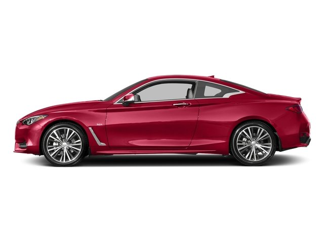 Dynamic Sunstone Red 2017 INFINITI Q60 Pictures Q60 Coupe 2D 3.0T Red Sport photos side view