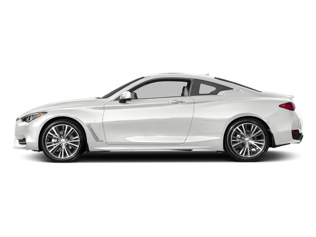 Pure White 2017 INFINITI Q60 Pictures Q60 Coupe 2D 2.0T Premium AWD photos side view