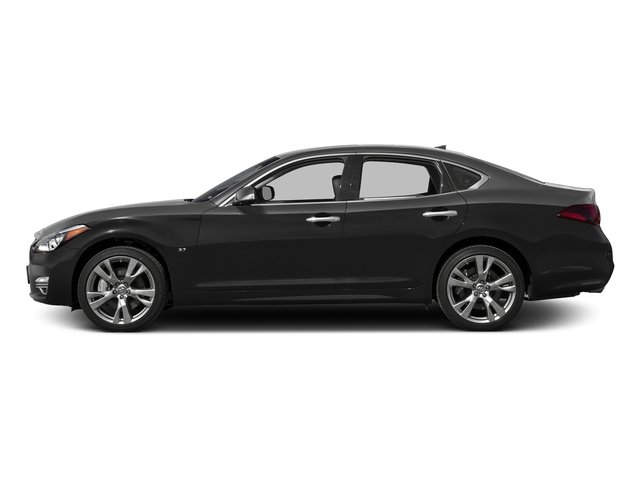 Black Obsidian 2017 INFINITI Q70 Pictures Q70 5.6 RWD photos side view