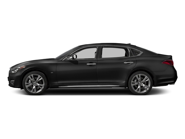 Graphite Shadow 2017 INFINITI Q70L Pictures Q70L 5.6 RWD photos side view