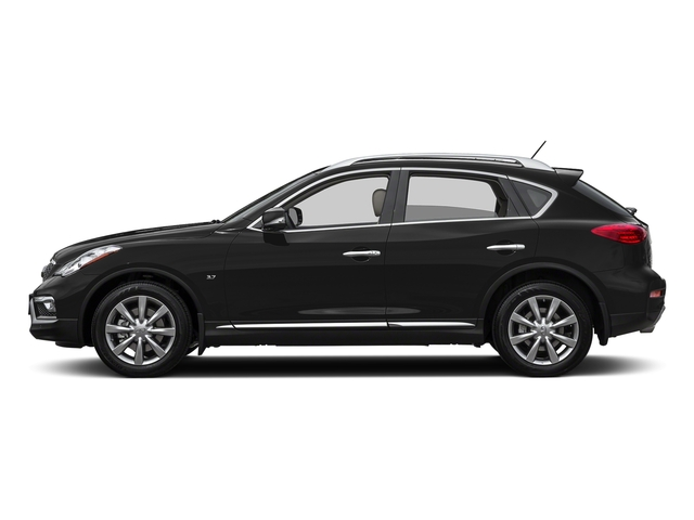 Black Obsidian 2017 INFINITI QX50 Pictures QX50 RWD photos side view