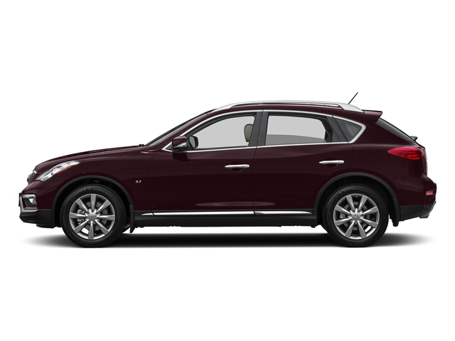 Midnight Garnet 2017 INFINITI QX50 Pictures QX50 RWD photos side view